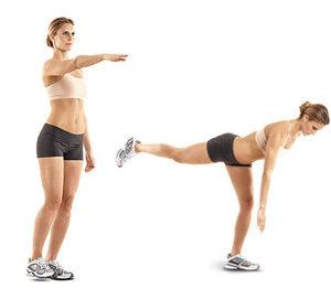 упражнения для похудения номер 9