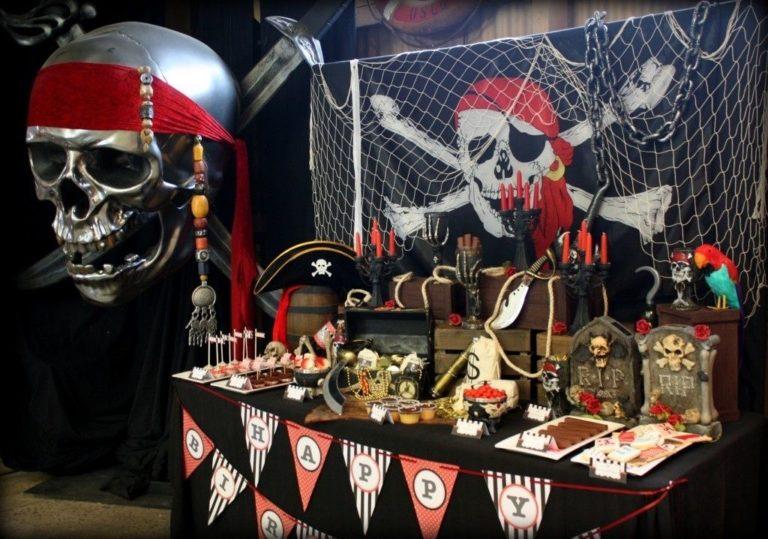Антураж пиратской вечеринки своими руками 71
