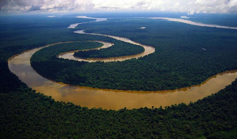 Самые длинные реки - Амазонка