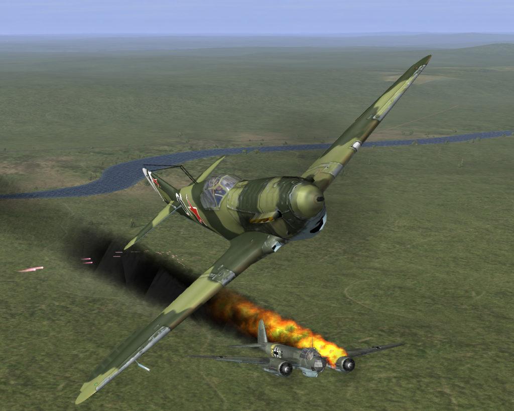 Лучшие игры о войне - Ил-2 Штурмовик