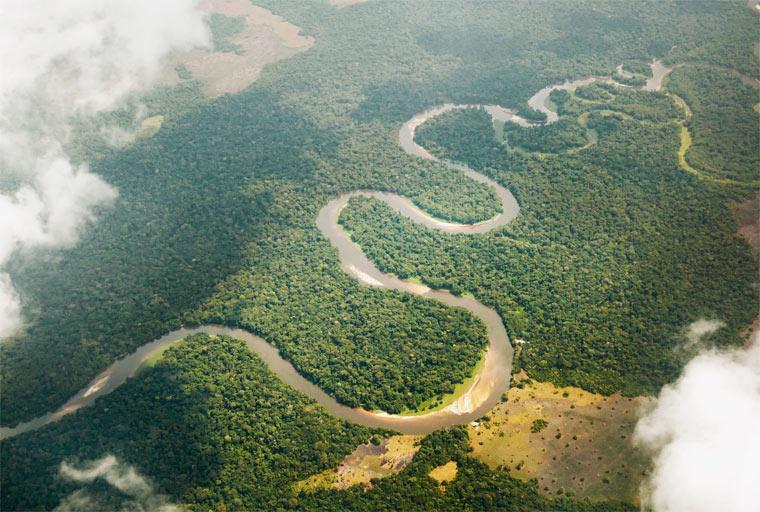 Самые длинные реки - Конго