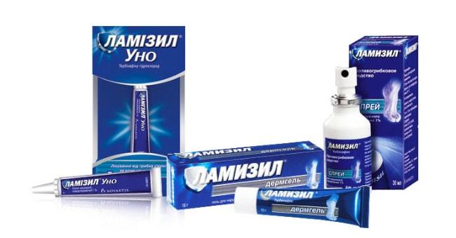 Лучшие средства от грибка - Ламизил