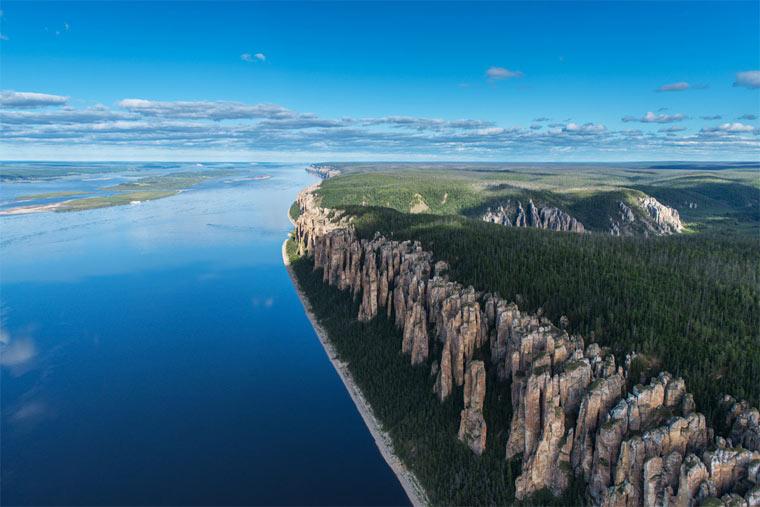 Самые длинные реки - Лена