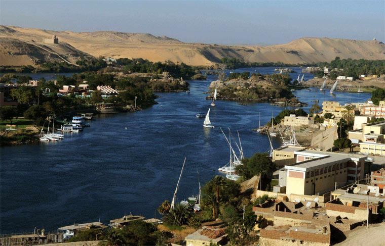 Самые длинные реки - Нил