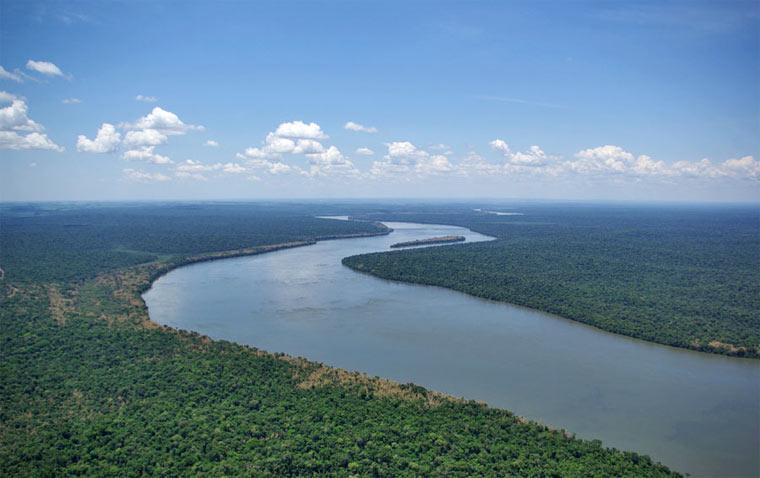 Самые длинные реки - Парана