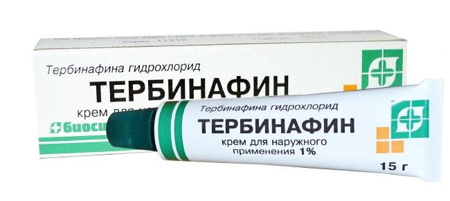 Лучшие средства от грибка - Тербинафин