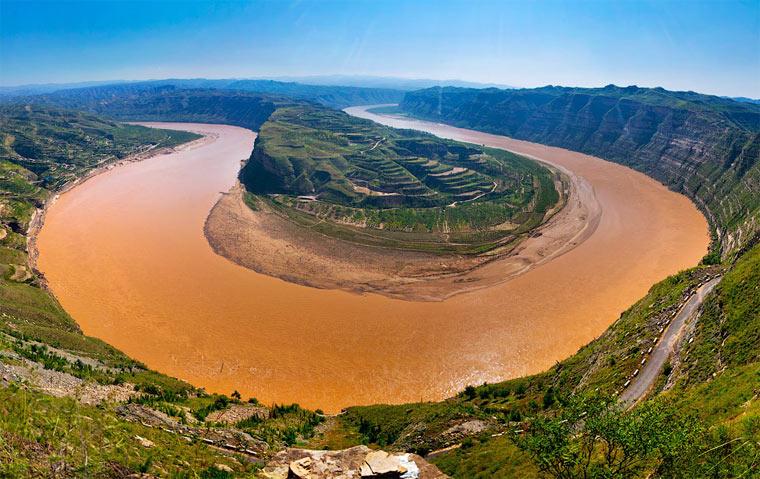 Самые длинные реки - Хуанхэ