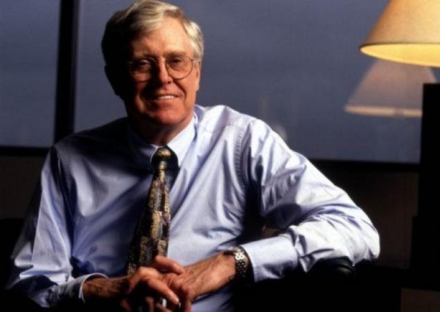 Самые богатые люди мира - Чарльз Кох