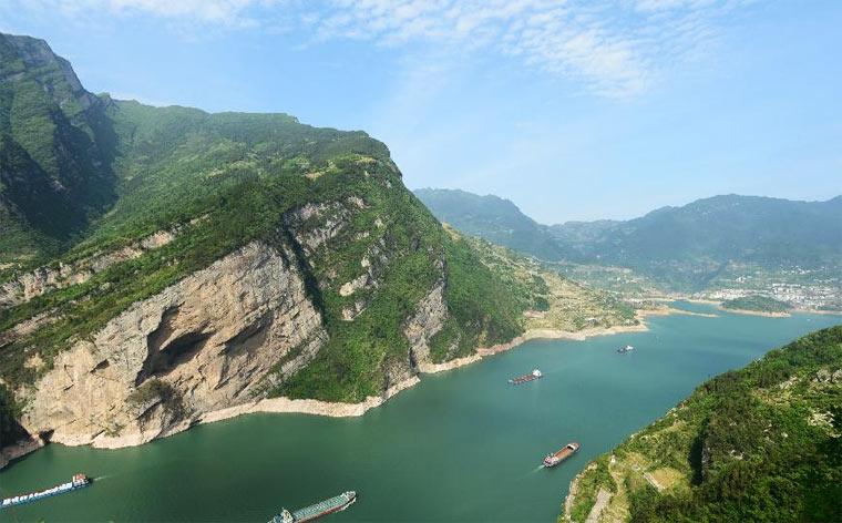 Самые длинные реки - Янцзы