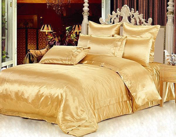 лучшие ткани для постельного белья - постельное белье из атласа