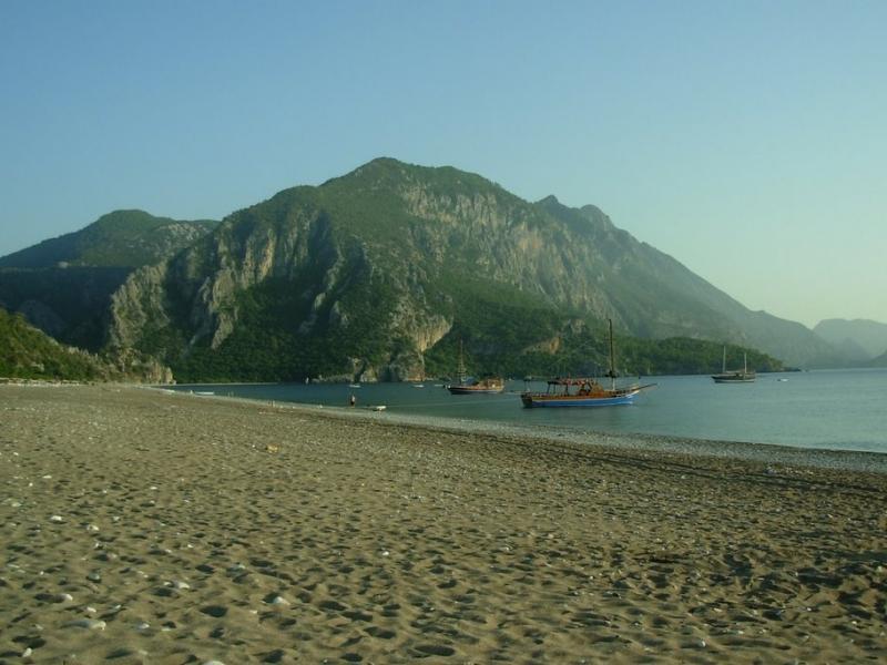 Лучшие пляжи Турции - Пляж Сиде (Сиде)