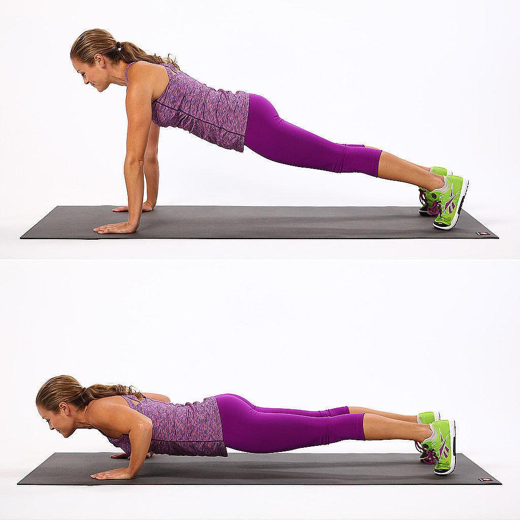 упражнения для похудения спины и рук в картинках