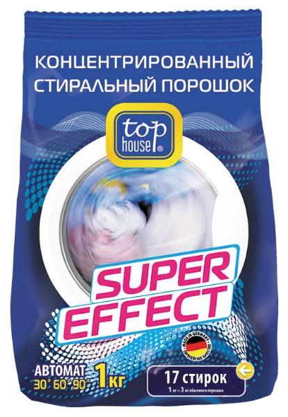 Лучшие стиральные порошки автомат - Top House Super Effect