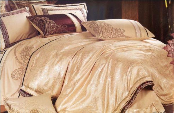 лучшие ткани для постельного белья - постельное белье жаккард