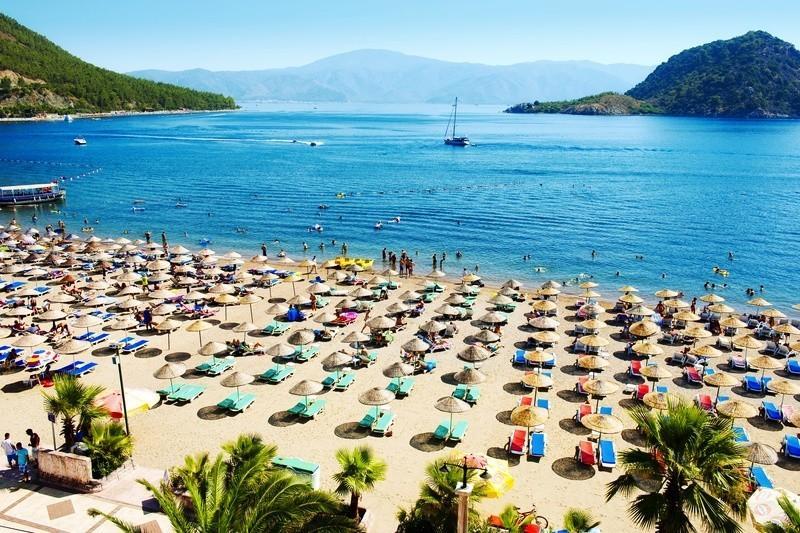 Лучшие пляжи Турции - Пляж Ичмелер (Мармарис)