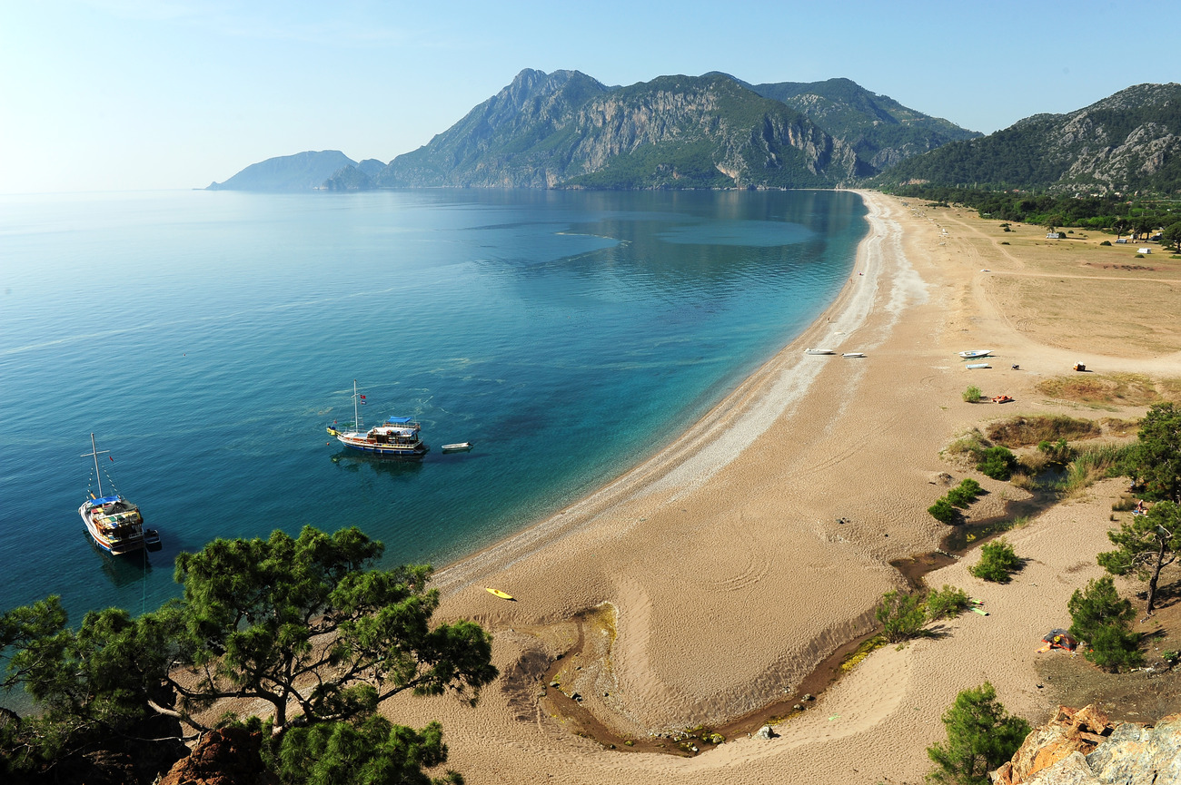 фотоотчет побережье турции работы