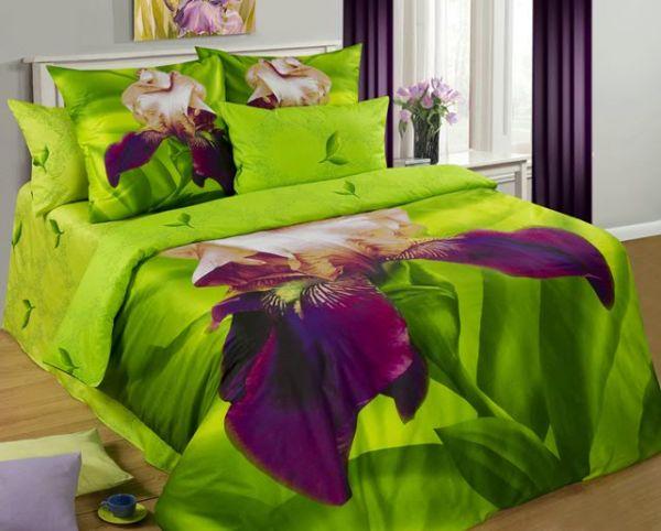 лучшие ткани для постельного белья - постельное белье из сатина