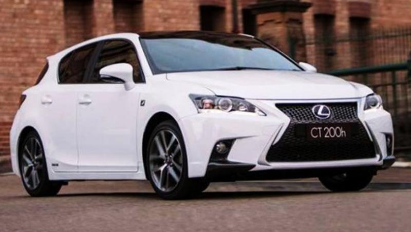 самые экономные внедорожники - LexusCT 200h