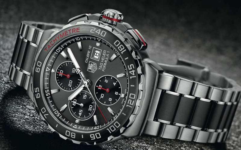 Самые лучшие производители часов - TAG Heuer