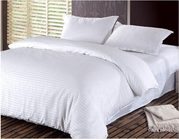 лучшие ткани для постельного белья - постельное белье сатин страйп