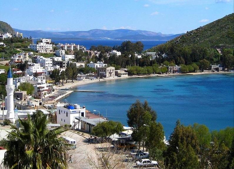Лучшие пляжи Турции - Пляж Акьярлар (Бодрум)