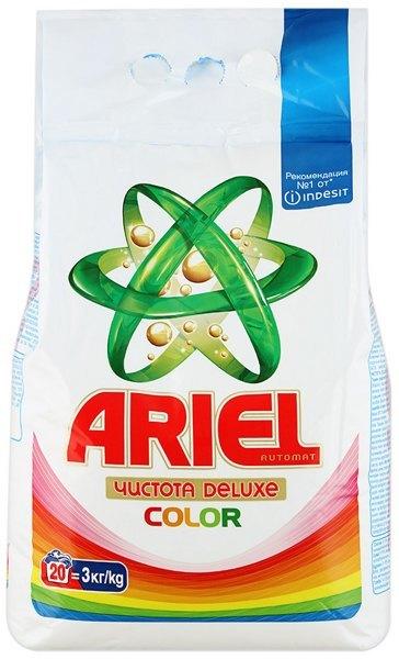 Лучшие стиральные порошки автомат - Ariel Сolor