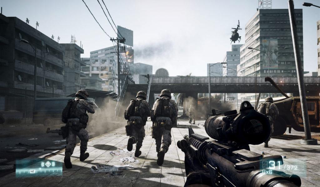 лучшие компьютерные игры - Battlefield 3