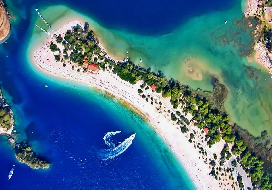 Лучшие пляжи Турции - Пляж Голубая Лагуна Олюдениз (Фетхие)