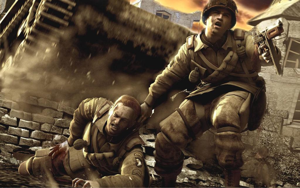 Лучшие игры о войне - Brothers in Arms