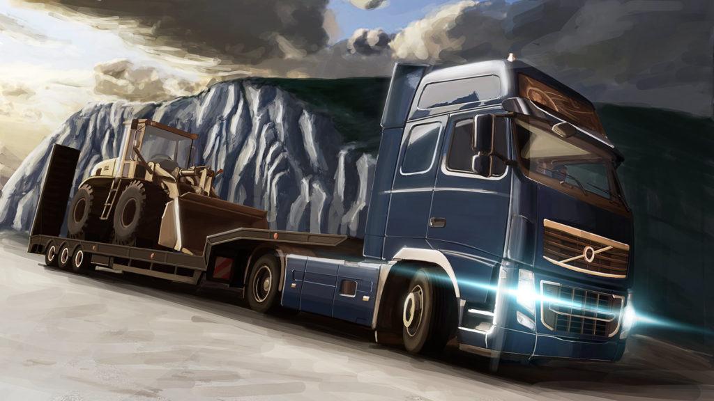 Лучшие симуляторы на ПК - Euro Truck Simulator 2