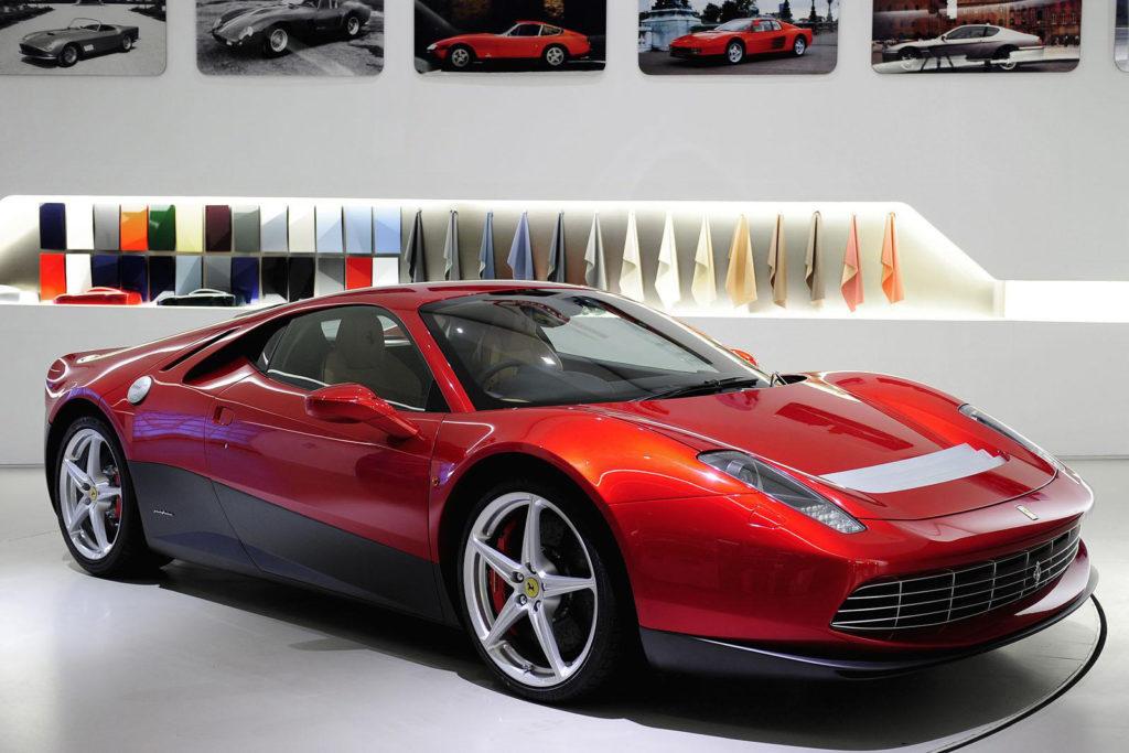 Самые дорогие машины  - Ferrari SP12 EC