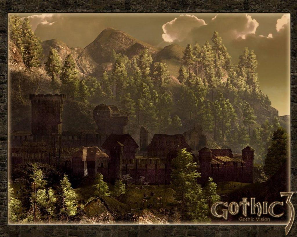 Лучшие игры с открытым миром - Gothic