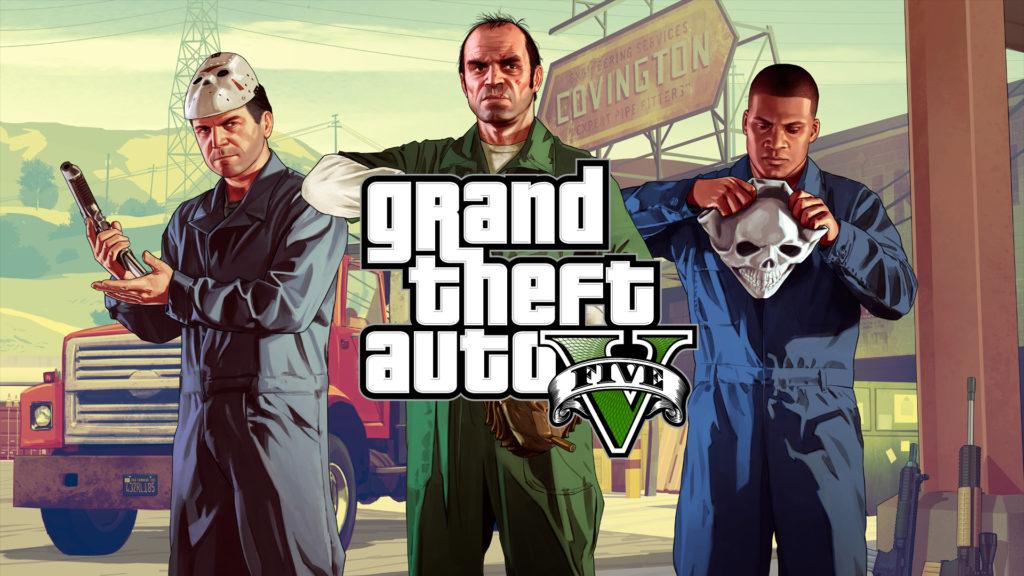 лучшие компьютерные игры - Grand Theft Auto 5