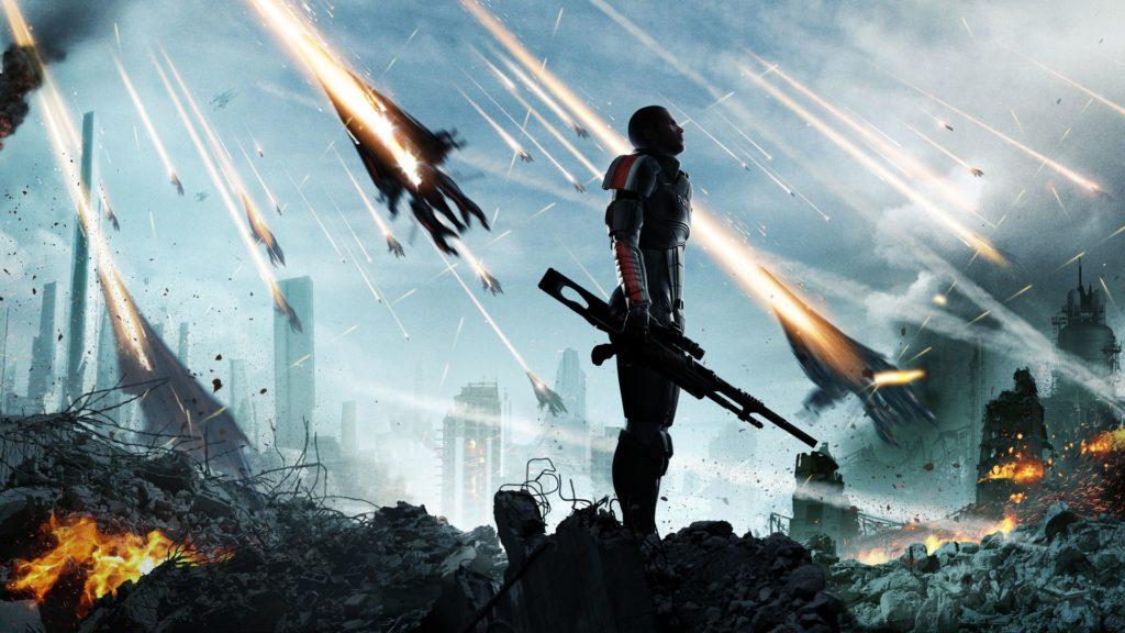 лучшие компьютерные игры - Mass Effect