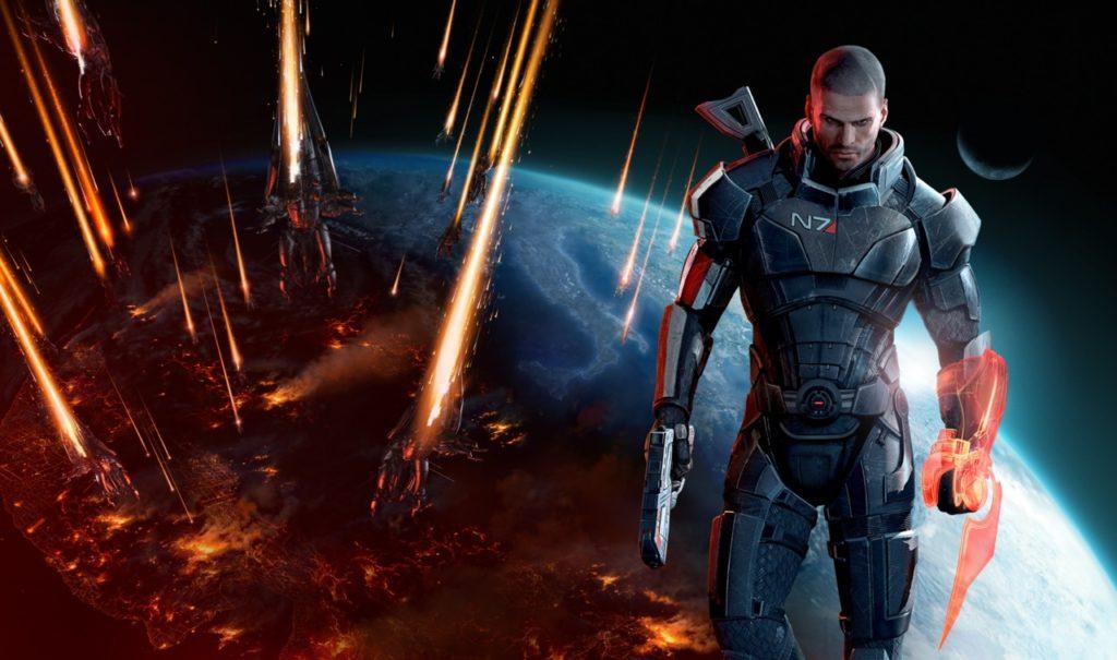 Лучшие РПГ - Mass Effect