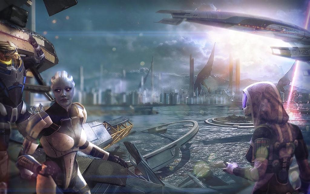 Лучшие игры с открытым миром - Mass Effect