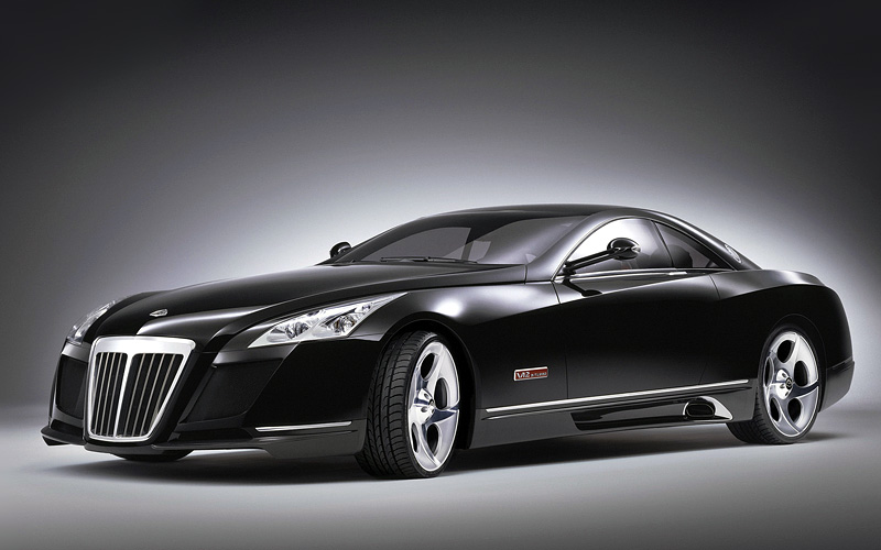 Самые дорогие машины- Maybach Exelero