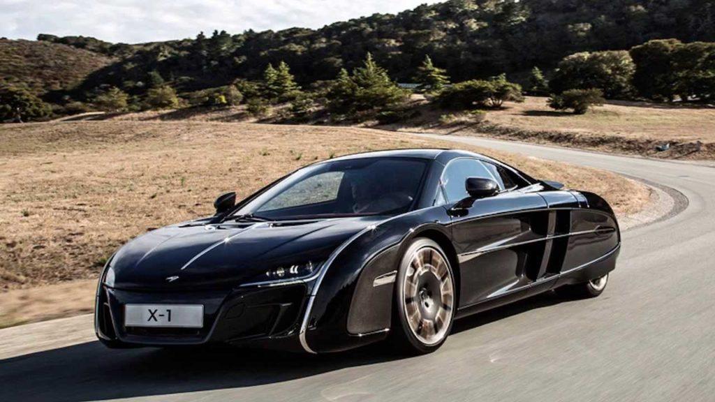 Самые дорогие машины - McLauren X-1 Concept