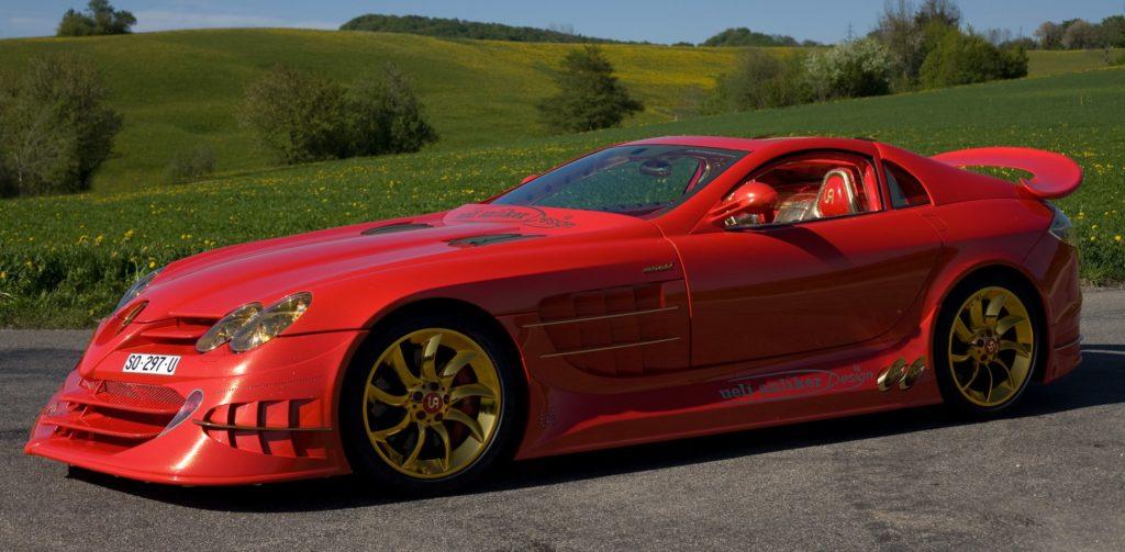 Самые дорогие машины - Mercedes-Benz SLR McLaren 999 Red Gold Dream Ueli Anliker