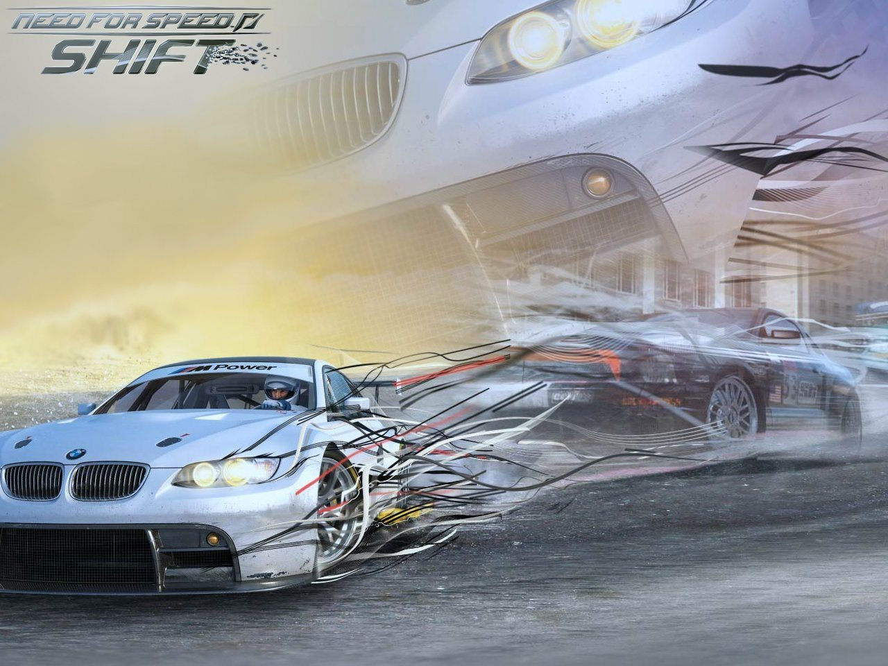 спортивный автомобиль игры need for speed shift скачать
