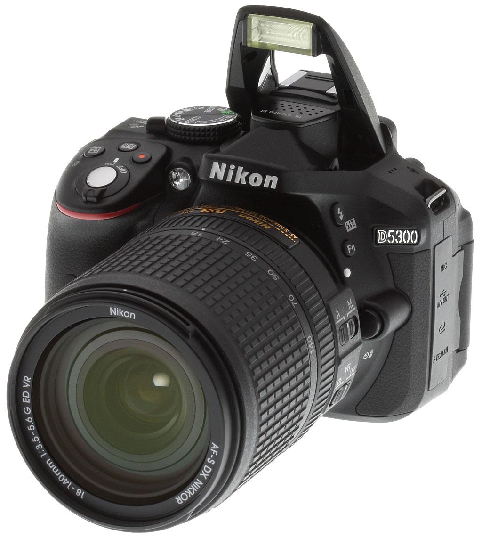 Лучшие фотоаппараты - Nikon D5300