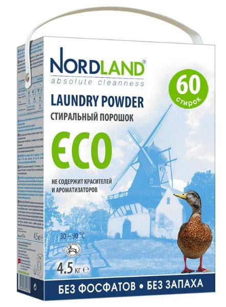 Лучшие стиральные порошки автомат - Nordland EСO