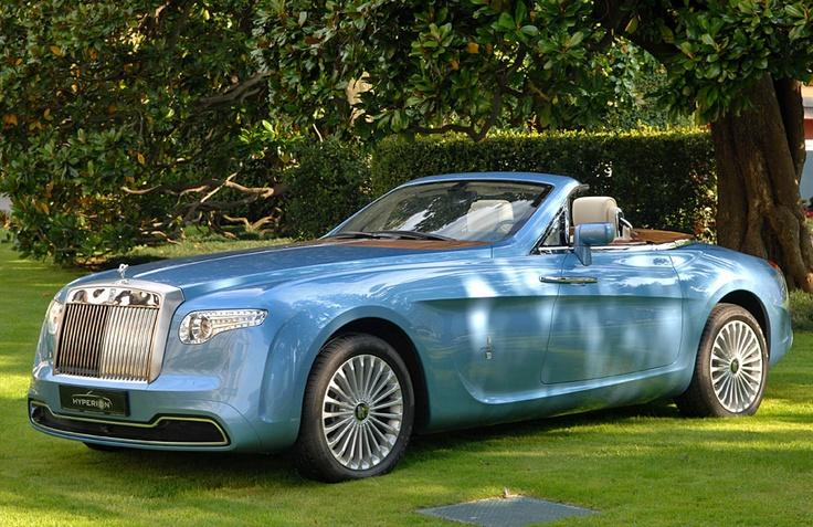 Самые дорогие машины - Rolls Royce Pininfarina Hypetion
