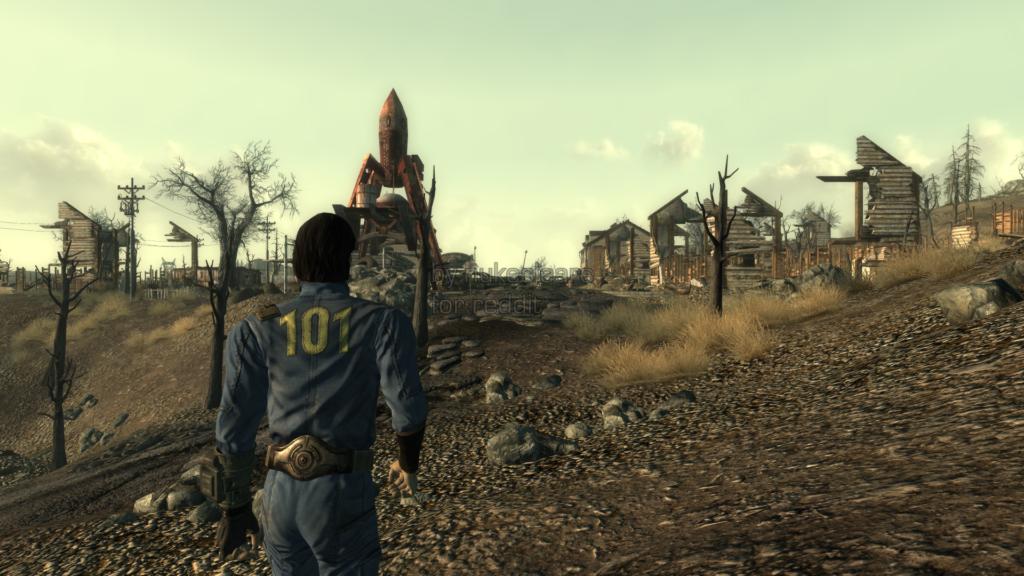 лучшие компьютерные игры - Fallout 3