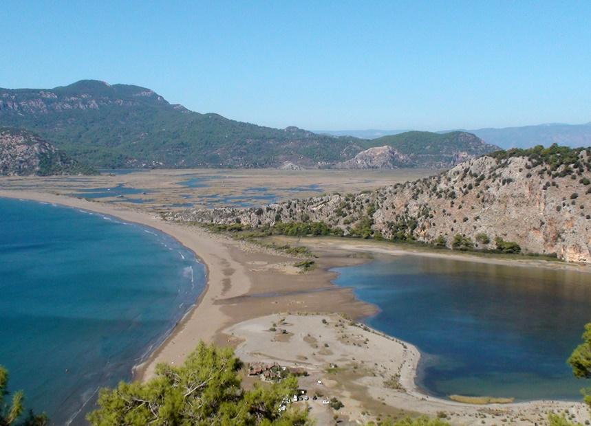 Лучшие пляжи Турции - Пляж Изтузу (Дальян)