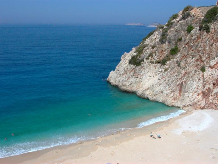 Лучшие пляжи Турции - Пляж Капуташ (Каш и Калкан)