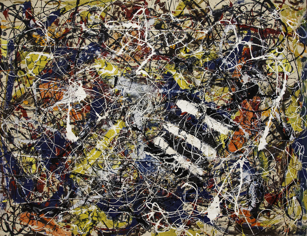 Самые дорогие картины мира - Джексон Поллок «Номер 17А»