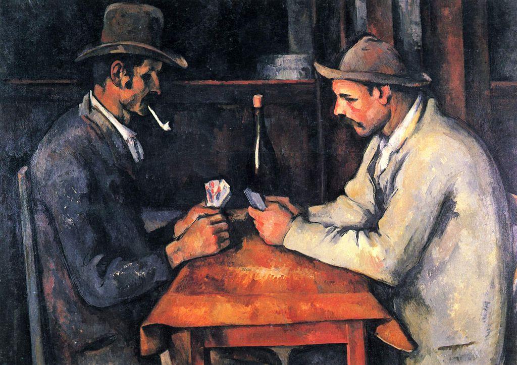 Самые дорогие картины мира - Поль Сезанн «Игроки в карты»