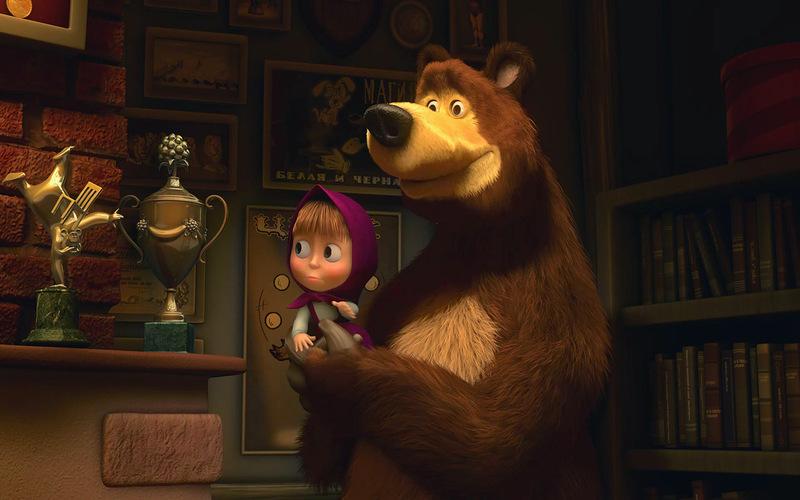 Лучшие каналы ютуба  - Маша и Медведь