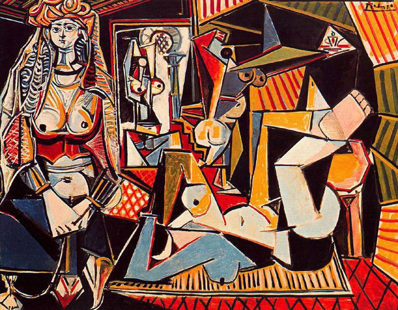 Самые дорогие картины мира - Пабло Пикассо «Алжирские женщины (версия О)»